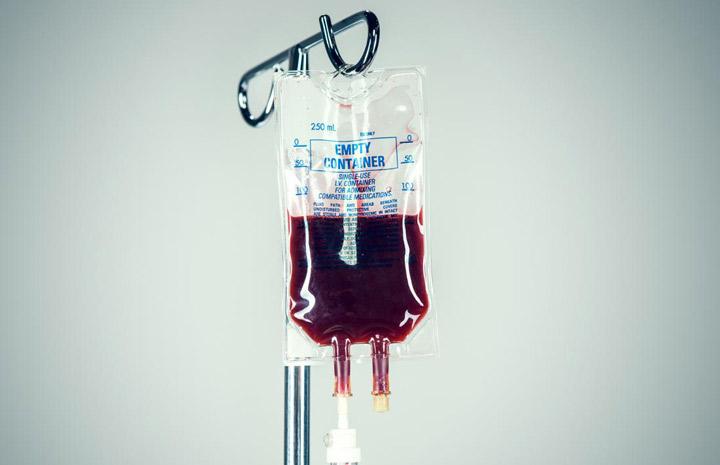 بیماری تالاسمی، انتقال خون