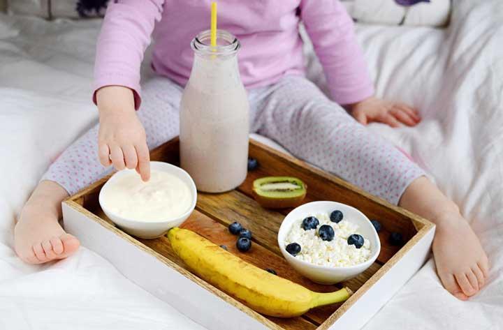 غذای سالم برای کودکان - ماست