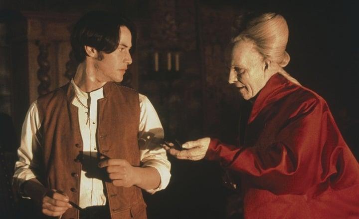 دراکولای برام استوکر از بهترین فیلم های کیانو ریوز