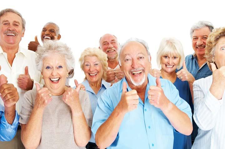 افسردگی در سالمندان -  سالمندان شاد