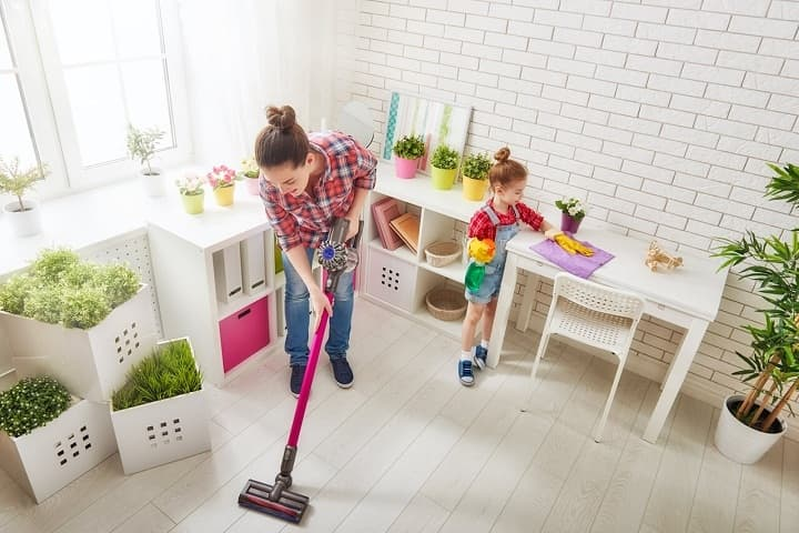 چطور خانه مان همیشه تمیز باشد