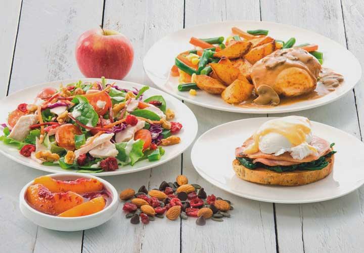 برای موفقیت در رژیم غذایی ۱۲۰۰ کالری بهتر است از غذاهای پرحجم ولی کم کالری استفاده بکنید.