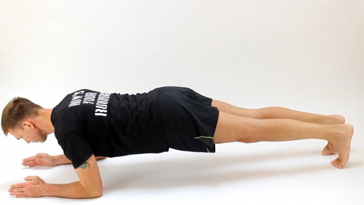 حرکت تخته (پلانک) (بهترین ورزش برای لاغری شکم و پهلو)
