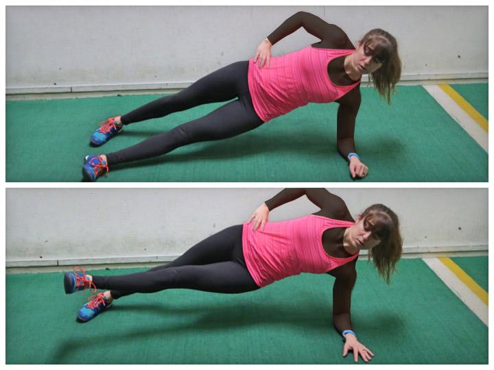 حرکت تخته از پهلو (بهترین ورزش برای لاغری شکم و پهلو)