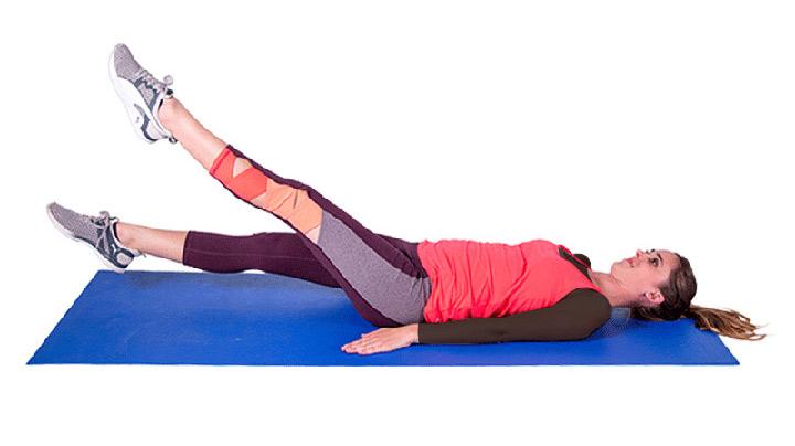 حرکت قیچی (بهترین ورزش برای لاغری شکم و پهلو)