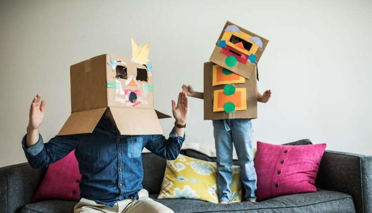 ۳۰ ایده خلاقانه برای سرگرمی کودکان در خانه