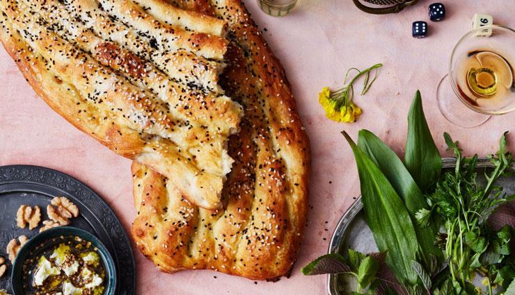 طرز تهیه نان خانگی بربری، تافتون، سنگک و حجیم روی گاز و درون فر