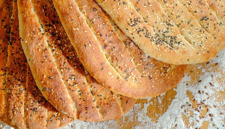 طرز تهیه نان خانگی بربری