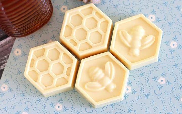 ساخت صابون در خانه - صابون عسل