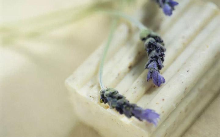 ساخت صابون در خانه - صابون اسطوخودوس