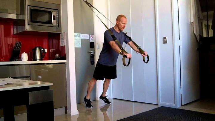 لوازم trx برای ورزش در خانه