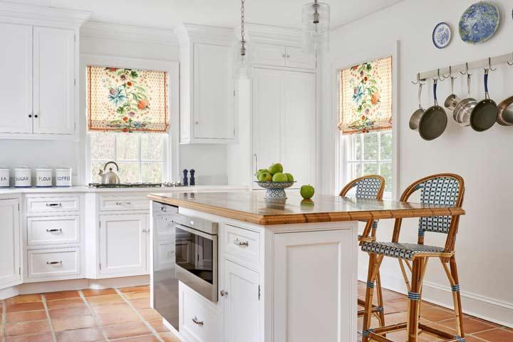 پرده آشپزخانه مناسب دکوراسیون بوهمین