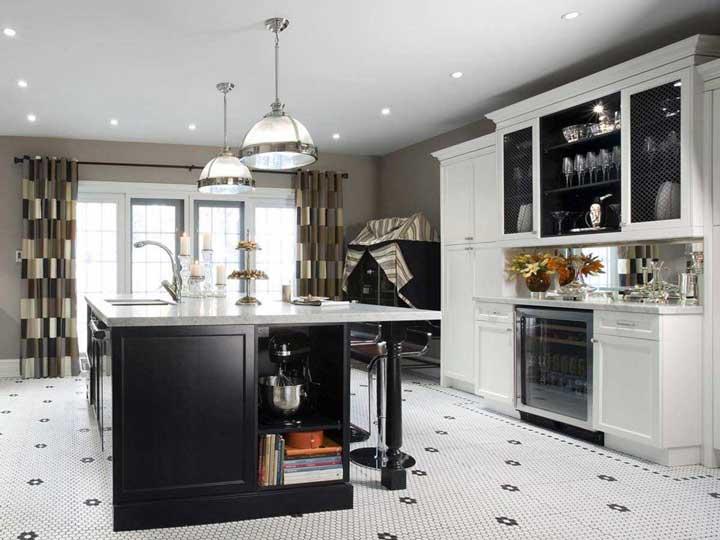 پردههای بلند مناسب پرده آشپزخانه