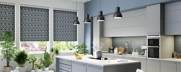 پرده آشپزخانه مناسب دکوراسیون شهری