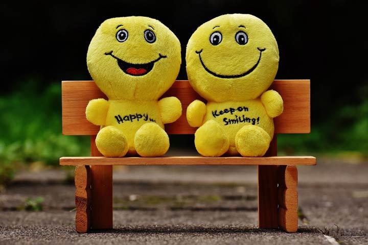 افراد شاد، از دیدنت خوشحالم