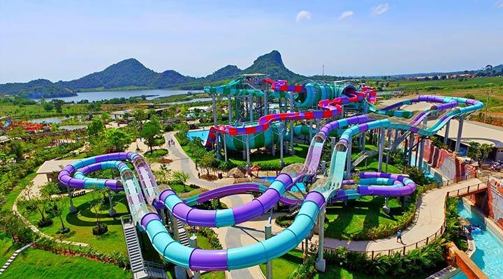 پارک آبی رامایانا در تایلند یکی از بهترین پارک های آبی دنیا