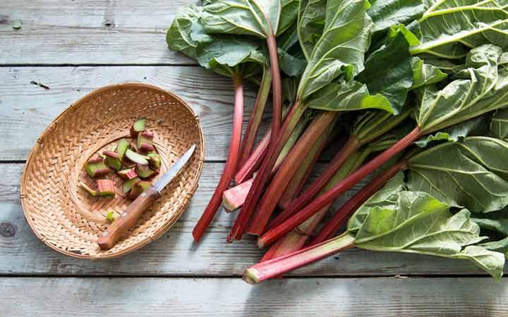 چه خوراکیهایی را نباید بهصورت خام یا نارس بخوریم - برگ ریواس