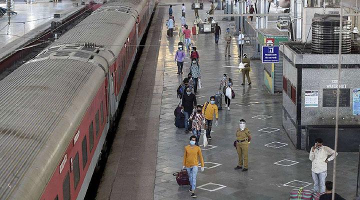 سفر با قطار - پیشگیری از کرونا در سفر