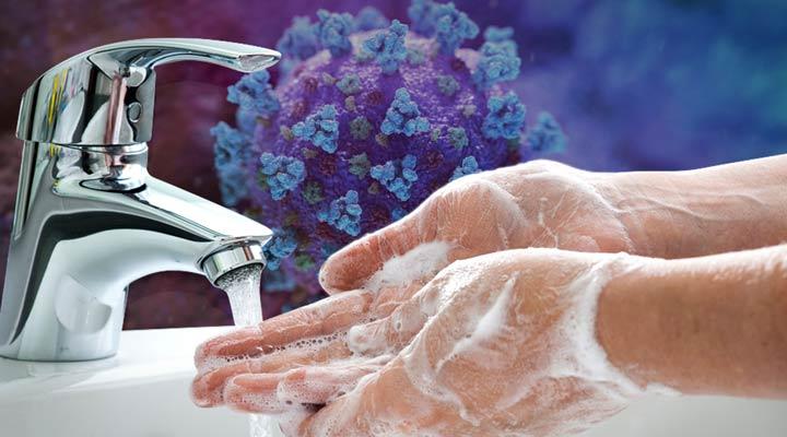 شستشوی دست ها - دوران شیردهی و کرونا