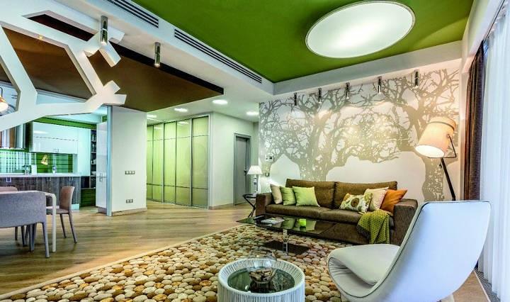 استفاده از رنگ سبز در دکوراسیون خانه