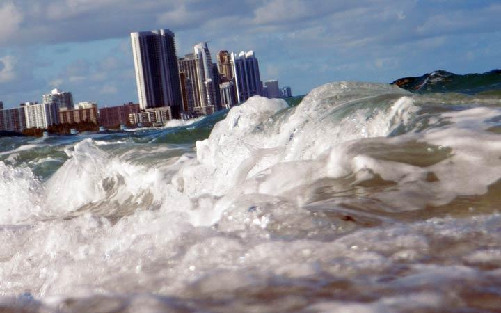 جهان در سال ۲۰۵۰ - غرق شدن شهرهای بزرگ