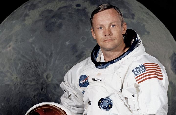 نیل آرمسترانگ در ۳۸سالگی قدم بر ماه گذاشت