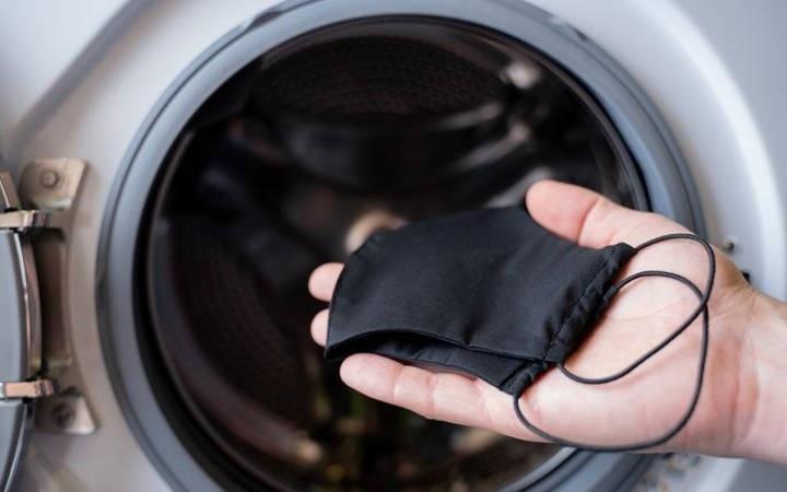 ضدعفونی کردن ماسک پارچهای با ماشین لباسشویی