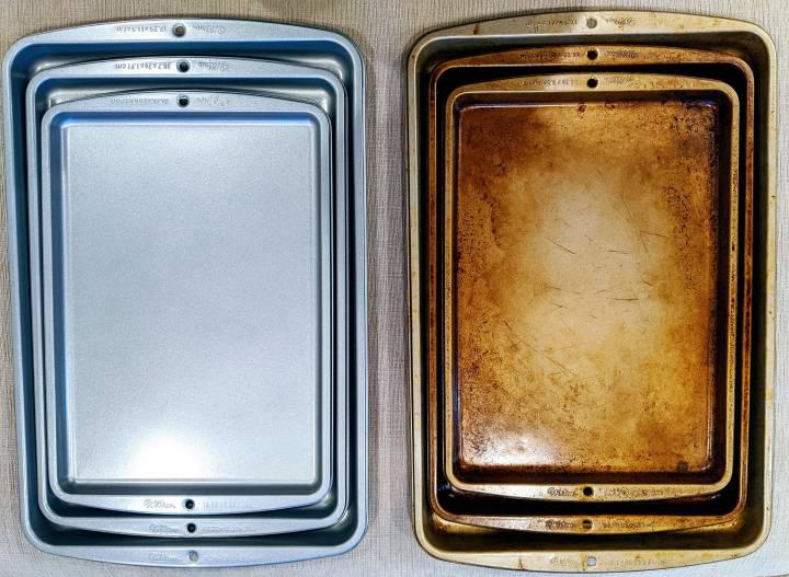 دوباره نو کردن سینی فر - تمیز کردن آشپزخانه