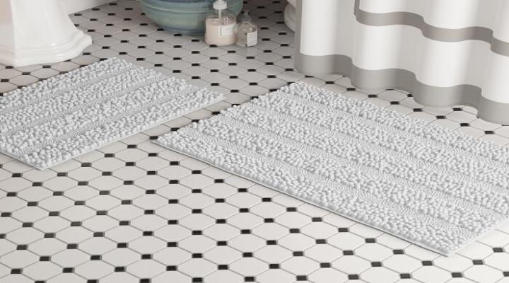 زیرپایی حمام - چیزهای عجیبی که میتوانید در لباسشویی بشویید