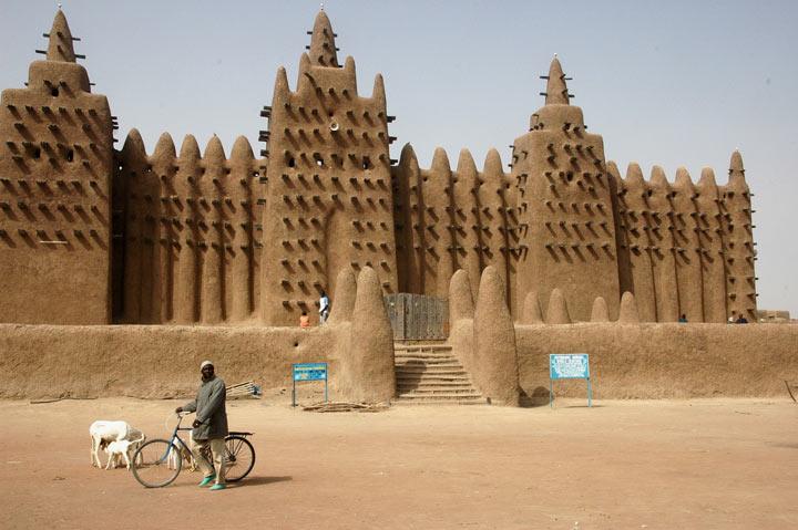 جنه مالی از جاهای دیدنی آفریقا