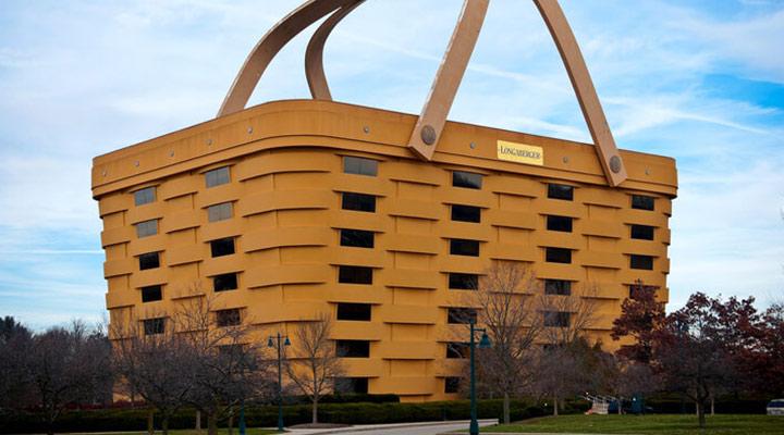 عجیب ترین سازه های معماری دنیا - دفتر مرکزی لانگابرگر (Longaberger Headquarters)، اوهایو آمریکا