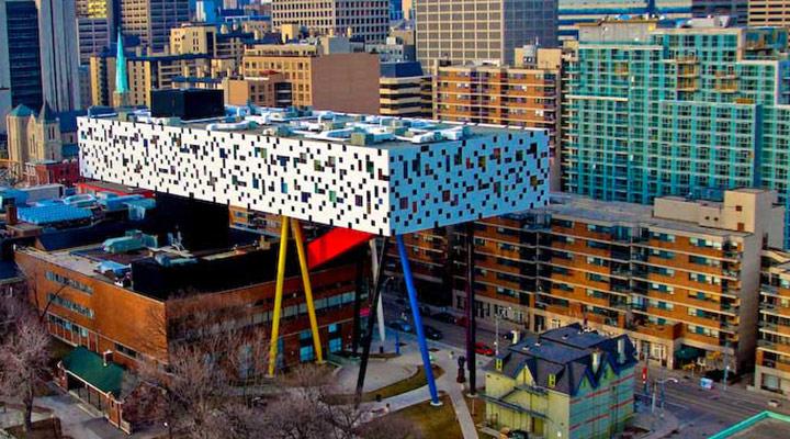 عجیب ترین سازه های معماری دنیا - مرکز طراحی Sharp در کانادا