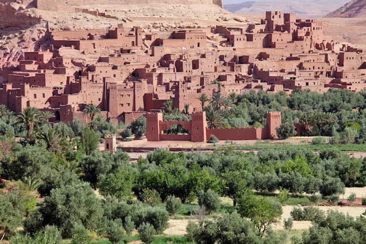 ایت بنهادو مراکش از جاهای دیدنی آفریقا