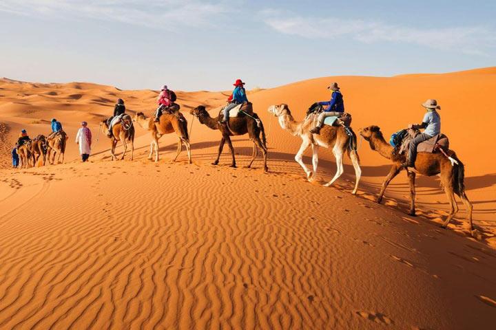 مرزوگا مراکش از جاذبه های گردشگری قاره آفریقا