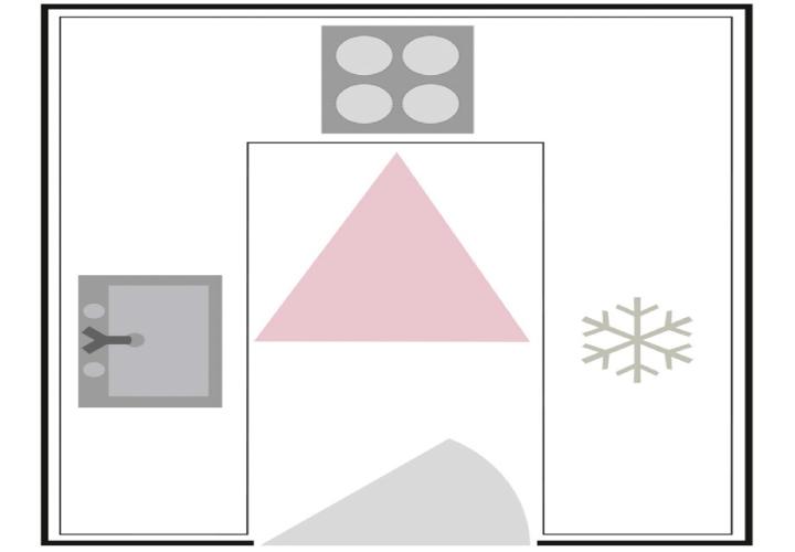 آشپزخانه U شکل - ایدههایی برای چیدمان زیبا در آشپزخانه