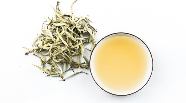 ۱۲ دمنوش برای سرماخوردگی - چای سفید محتوی آنتیاکسیدانها و ترکیباتی است که با علائم سرماخوردگی میجنگند.