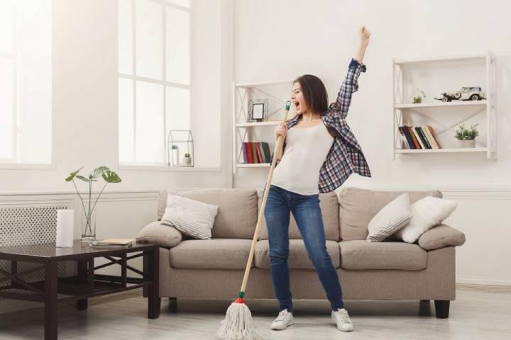 تمیز نگه داشتن خانه برای افزایش ظرفیت ریه
