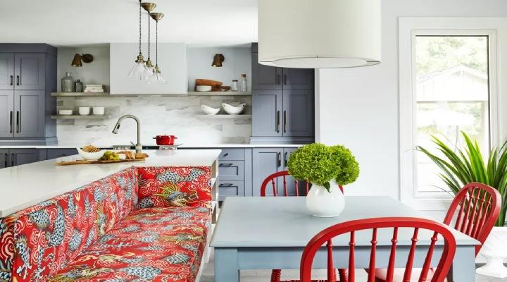 غذاخوری دنج - ایدههایی برای چیدمان زیبا در آشپزخانه