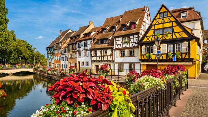 Alsace villages are one of the sights of France