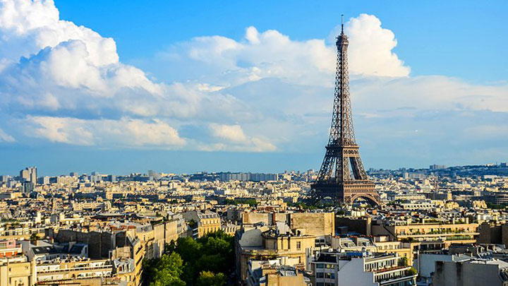 The Eiffel Tower is one of the sights of France