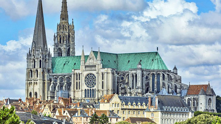 The Church of Notre Dame is one of the sights of France
