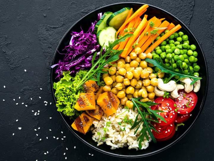 برنامه ریزی برای لاغری - رژیم غذایی وگان