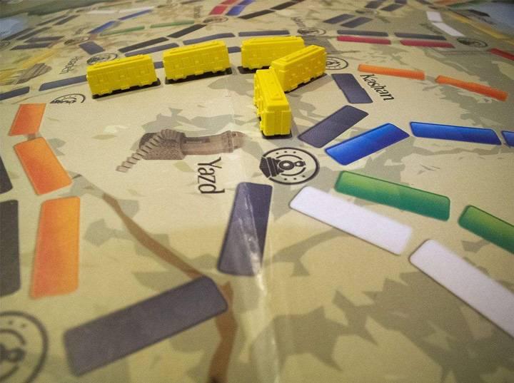 بازی های مسابه مافیایی - بلیط سفر