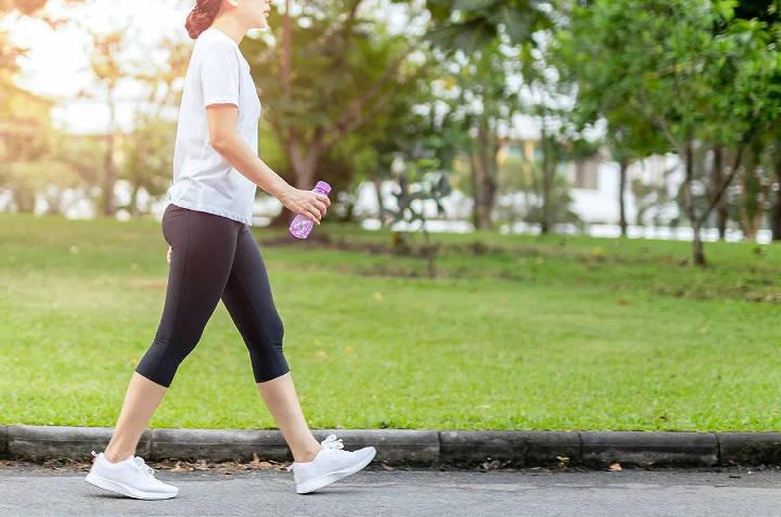 افزایش شدت و سرعت پیاده روی برای لاغری شکم و پهلو