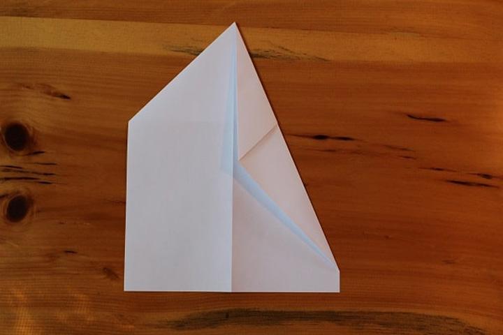 اوریگامی هواپیما مرحله ۳