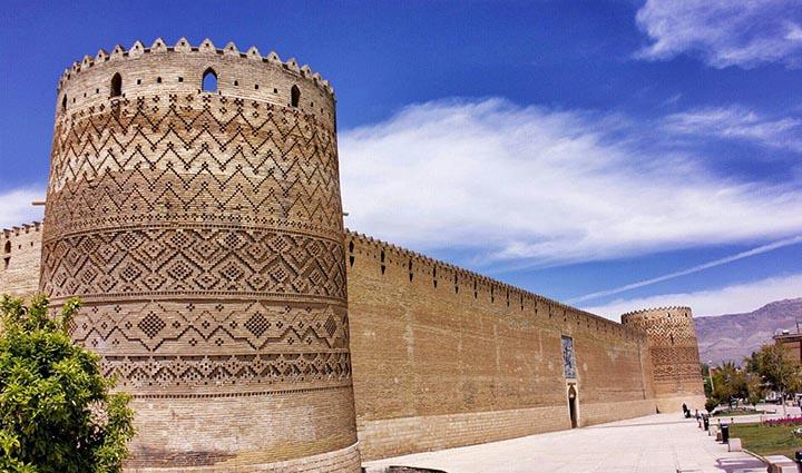 قلعه های ایران - ارگ کریم خان