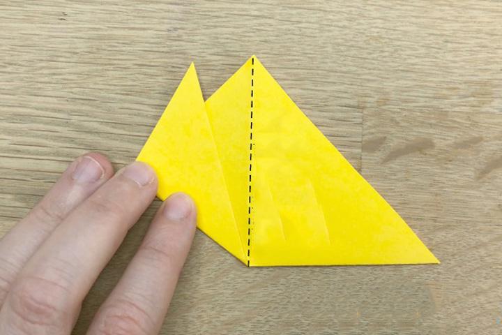 اوریگامی لاله مرله ۱