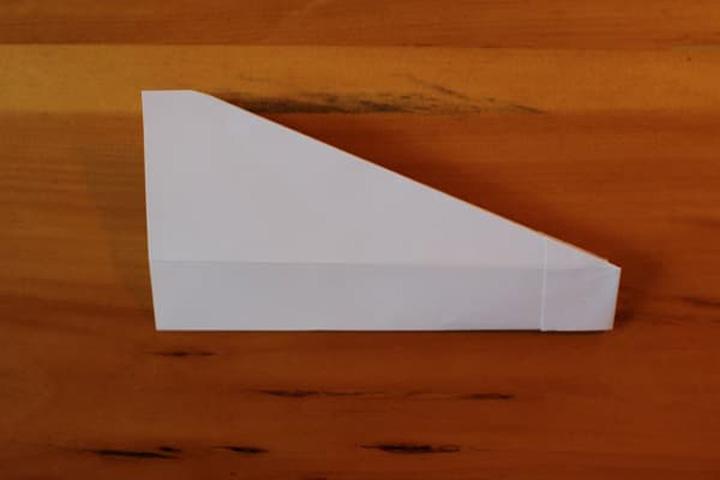 اوریگامی هواپیما مرحله ۵