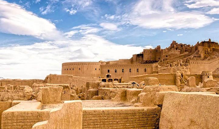 ارگ بم از قلعه های ایران
