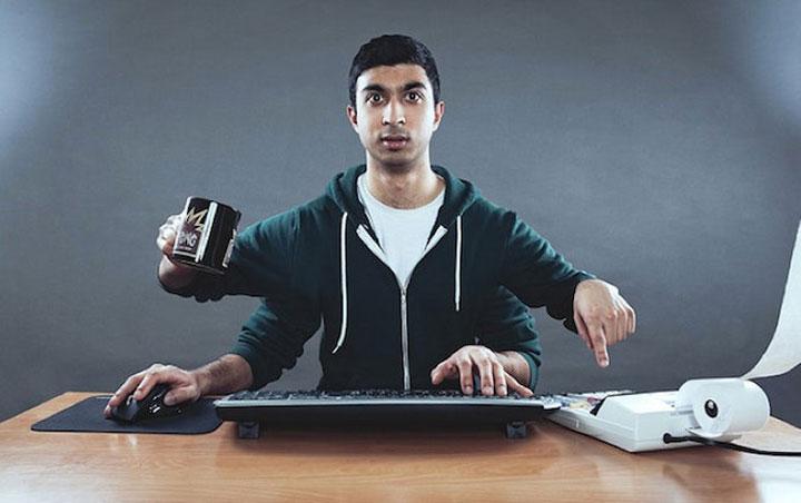 Multitasking prevents alertness and concentration.